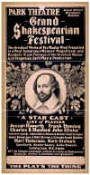 Park Theatre Grand Shakespeare Festival 2 Poster-Resized.jpg (211068 bytes)